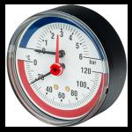 Манометр и термометр